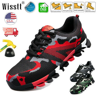 Indestructible Bulletproof Safety Work Shoes Steel Toe Cap Boots Casual Sneakers