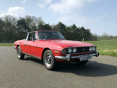 1975 Triumph Stag MK II 3.0 V8. Lovely Car. Desirable Manual Overdrive.