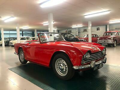 1965 Triumph TR4. Genuine U.K Car. Only 3 Previous Owners. Free Delivery*