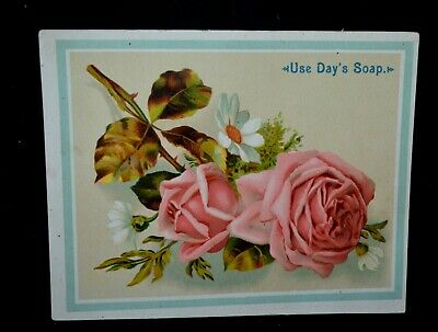 Vintage Large Day's Soap Victorian Trade Card Day & Frick Philadelphia