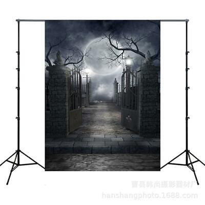Portable Collapsible Print Photography Backdrop Halloween Party s2zl