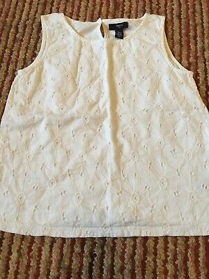 Girls Vest Top By Gap Age  10-11 Hardly Worn