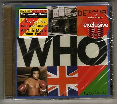 The Who: Who Cd Target Version Brand New 3 Bonus Tracks Townsend Daltrey