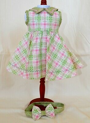 "Dress Outfit for American Girl Kit and Ruthie 18"" Doll - Keepers Dolly Duds"