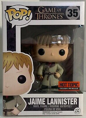 Funko Pop Game of Thrones #35 - Jaime Lannister - Hot Topic Exclusive