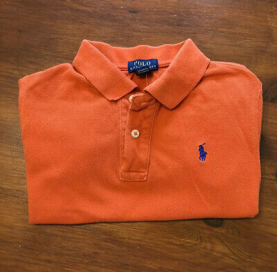 Boys Polo Ralph Lauren Polo Shirt Top, Age 7 Years, Lovely Clean Condition