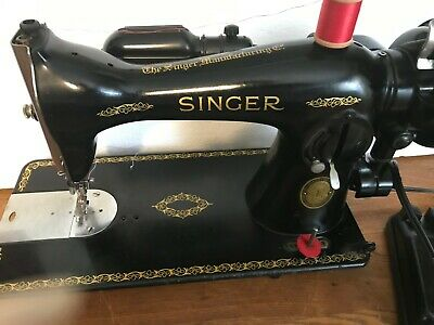 1951 Industrial Direct Drive Singer 15-91 Sewing Machine Serviced, Cleaned