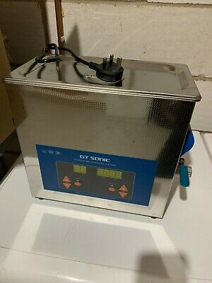 GT SONIC 6L Ultrasonic Cleaner Heated with Adjustable Timer
