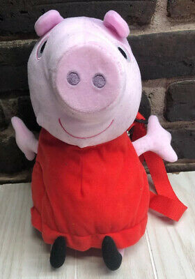 Peppa Pig Plush Backpack 15 Inches.Toddler Bag . C 27