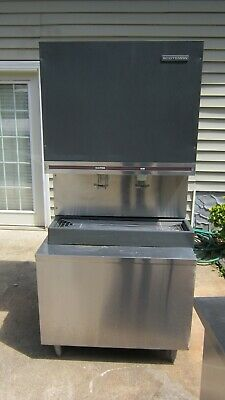 Scotsman Nugget Ice Maker Ice And Water Dispenser