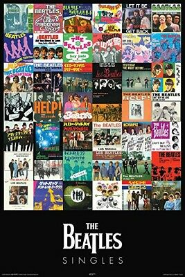 "The Beatles ""Singles"" 1965-1970 Poster 24X36"