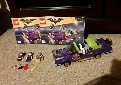 LEGO Batman Movie The Joker Notorious Lowrider - 70906 and Minifigures