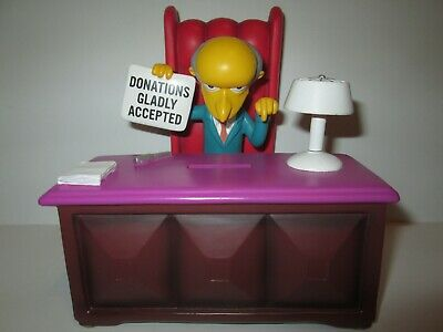 The Simpsons Mr Burns Figure Coin Bank