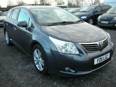 2011 Toyota Avensis 2.0 T4 D 4D 5d 125 BHP Estate Diesel Manual