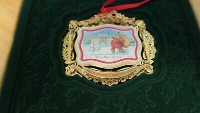 The White House Historical Association Christmas Ornament 2011  NEW In Box