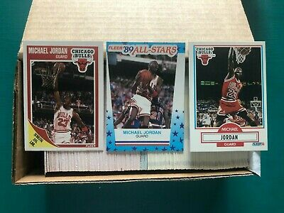 1989 & 1990 Fleer NBA Basketball Complete Sets Lot NM-MT++ with Michael Jordan!!