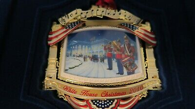 The White House Historical Association Christmas Ornament 2010 NEW In Box