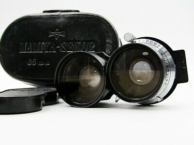 【EXC+++ w/ Case】 Mamiya Sekor 65mm F/3.5 TLR Lens for C220 C330 From JAPAN #s239