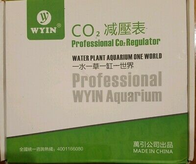 WYIN Professional CO2 Regulator W01-04, Sealed