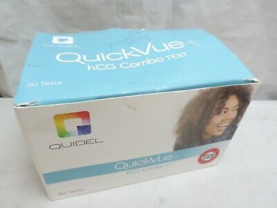 Quidel QuickVue+ hCG Combo Serum or Urine Early Pregnancy Test 28 Tests 00178