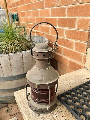 Antique Ship Lamp
