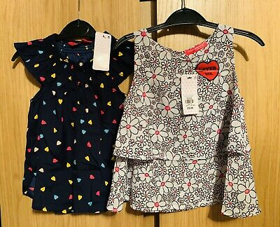 Young Dimensions, Girls Vest Top Bundle - BNWT Age 3-4 Years