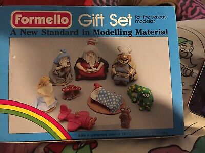 Rare Vintage Dryad Formello Fimo Oven Clay Making Modelling Gift Set