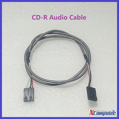 PC Motherboard CD-IN Connector Cable 4Pin CD Rom Audio Cable 60cm
