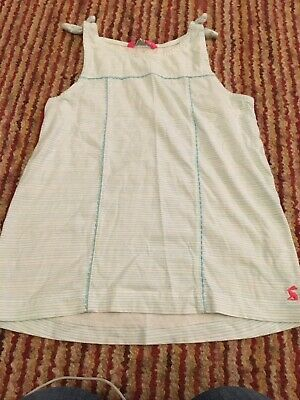 Girls Vest Top By Joules Age 9-10 Hardly Worn