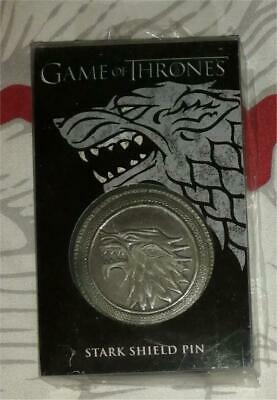 Game of Thrones Dark Horse House Stark pin