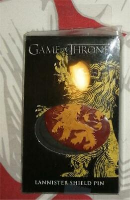 Game of Thrones Dark Horse House Lannister pin