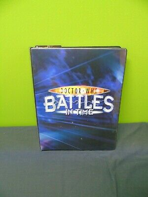 Doctor Who: Battles in time Collectors cards  & Folder