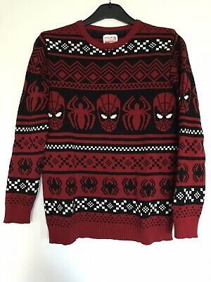 Marks And Spencer Spiderman Jumper For Kids Age 13-14yrs