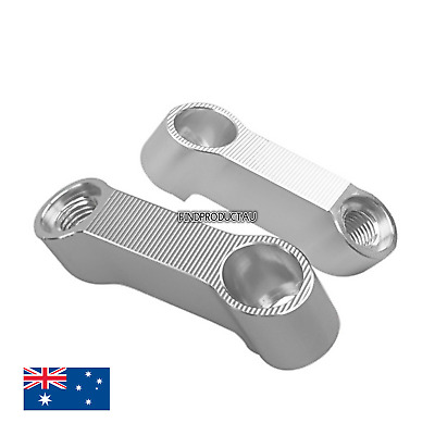 Mirror Risers Extension Adapter Bolts For BMW F800R 09-18 F800GS Adventure 08-18