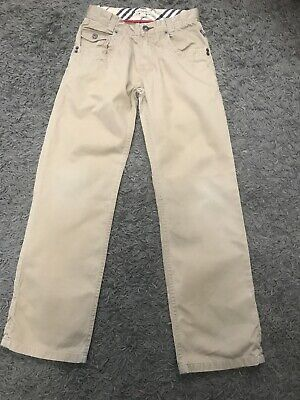 Boys Burberry Trousers Jeans Age 10 Vgc Genuine