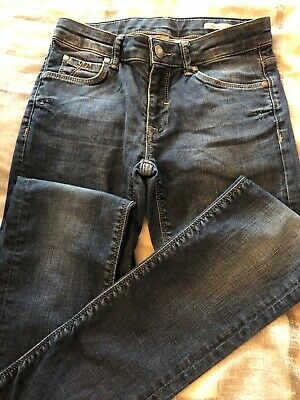 Boys 'Aston Martin' blue jeans. Aged 12 yrs. Very good condition