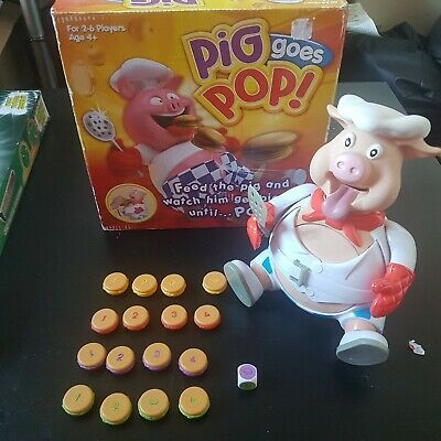 Pig Goes Pop Family Game By Ideal - Used - complete and fully working VGC