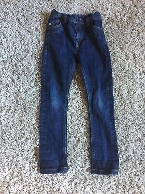 Boys Next Dark Blue Denim Jeans Age 6 Years