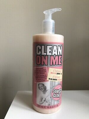 Soap and Glory Clean On Me Moisturising Shower Gel - 500ml