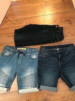 Boys bundle  14-15 years jeans & shorts