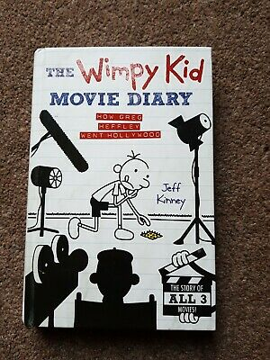 The Wimpy Kid Movie Diary - as new