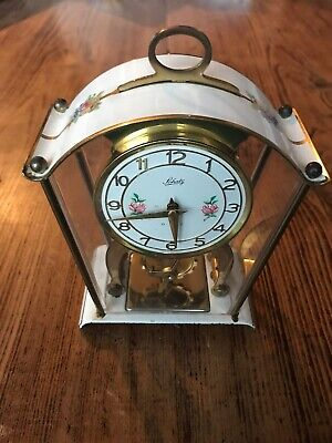 Vintage Schatz & Sohne German 2 Jewel 8 day (59) Carriage / Mantle Clock Antique
