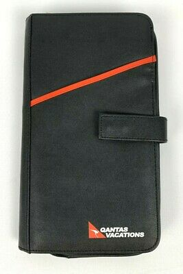 Qantas Vacations Travel Document Holder Organizer Wallet Australia