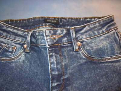 "Girls, river island blue jeans, skinny, size 8 31"" inside leg, mess about jeans"