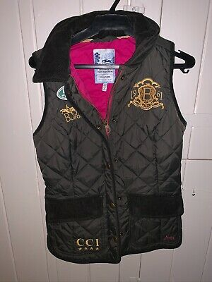 Joules Burghley Horse Trials Gilet, Size 8