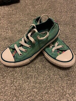 Converse Girls All Star Size 12