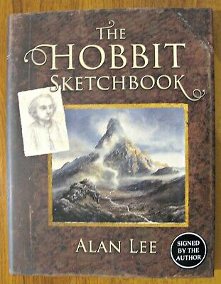 The Hobbit Sketchbook - Alan Lee - HAND SIGNED - 1/1 - UK Hardback A