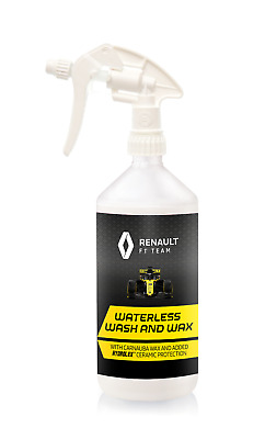 Renault F1 Waterless Wash & Wax 1L Bottle with Trigger Spray