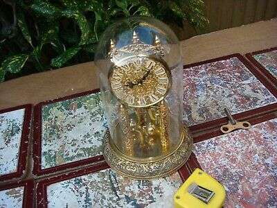Vintage Anniversary  400 Day Kundo Dome Mantle Clock For Spare Repair