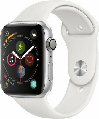 FACTORY SEALED Brand New Apple Watch Series 4 (GPS) 44mm - Silver Aluminum